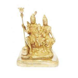 Shivapariwar| Shiva Family | Mahadev Family Brass Statue