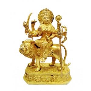 Maa Durga Idol Made of brass